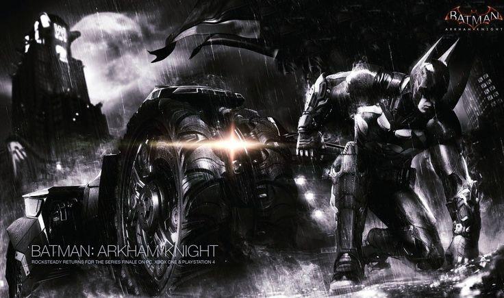 super batman arkham knight wallpaper
