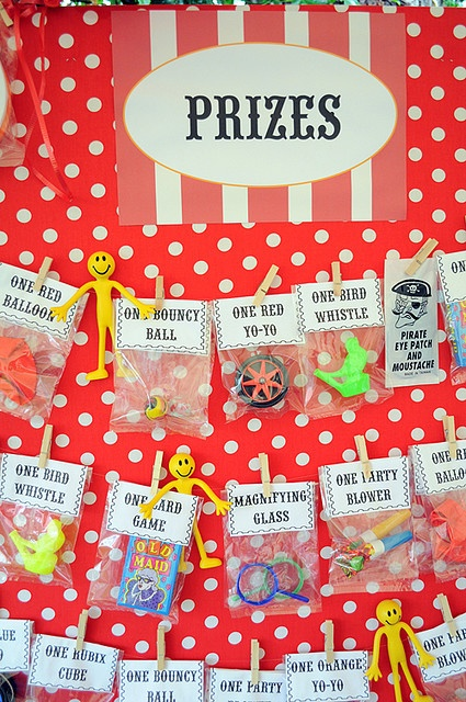 carnival party prizes