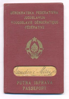 EXPIRED PASSPORT OF DEMOCRATIC FEDERAL YUGOSLAVIA FROM 1947 ,VERY RARE DOCUMENT http://www.ebay.com/itm/EXPIRED-PASSPORT-DEMOCRATIC-FEDERAL-YUGOSLAVIA-1947-VERY-RARE-DOCUMENT-/161105684062?pt=LH_DefaultDomain_0&hash=item2582a5a65e