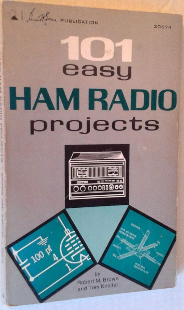 Currently for sale!  101 EASY HAM RADIO PROJECTS SC Book Amateur's Manual Equipment Supplies * RARE *