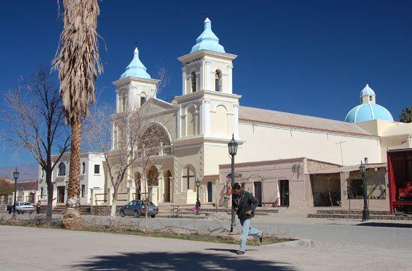 Iglesia de San Carlos Borromeo - Cafayate (Salta)
