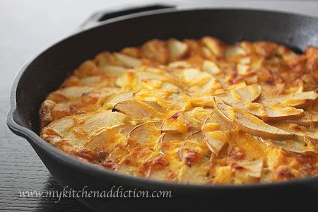 Apple Bacon Cheddar Frittata Recipe – Whole Family Cookbook