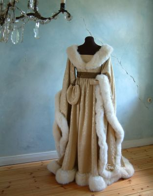 A midieval winter wear, front view. absolutely beautiful!