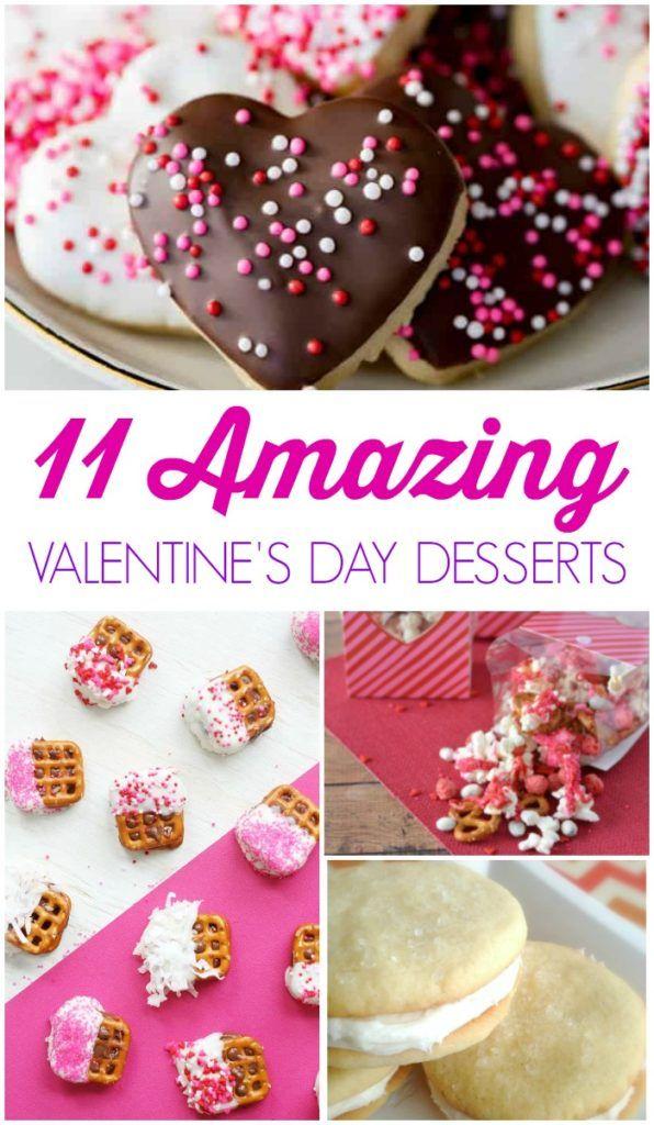 Easy Valentine S Day Dessert Recipes Valentine Desserts