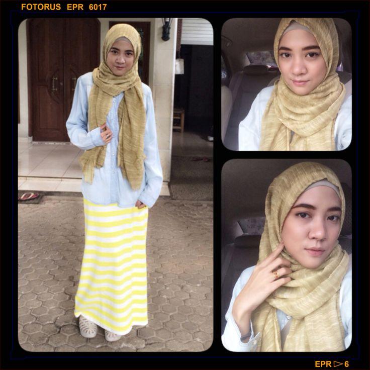 Hijab style #hijab #hijabers #fashion #hijabfashion #hijabstyle