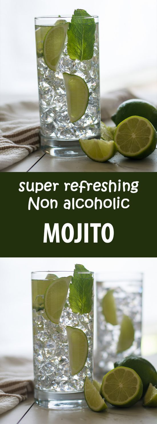 Non-alcoholic Mojito recipe, a perfect cocktail recipe exclusively for the people like me. Who could still enjoy the same cocktail but without any alcohol content. | http://pepperbowl.com via /pepperbowl/