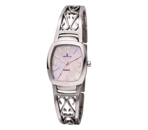 Reloj con caja y brazalete chapado especial I.P.S. - Cristian Lay