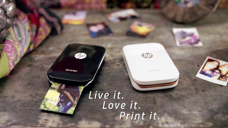 Impressora portátil HP Sprocket é anunciada para o Brasil - https://www.showmetech.com.br/impressora-portatil-hp-sprocket-brasil/