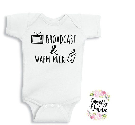 Made in Indiana Barcode Baby Romper