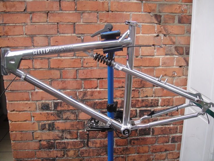 #1994 AMP research B2 full suspension retro mountain bike frame Like, Repin, Share, Follow Me! Thanks!