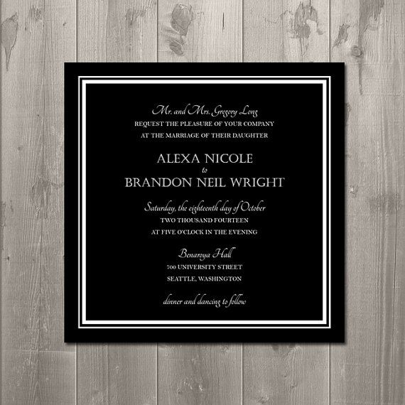 How To Diy Wedding Invitations is nice invitations layout