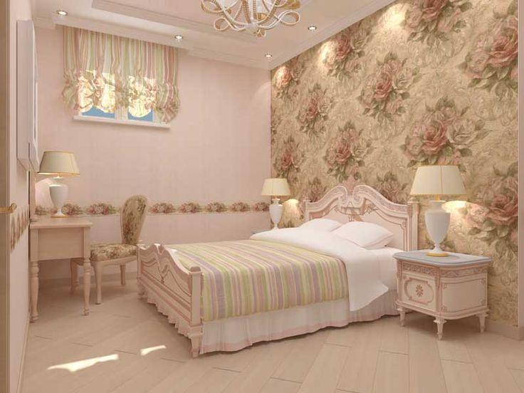 Дизайн спальни в квартирах ЖК Романовский.