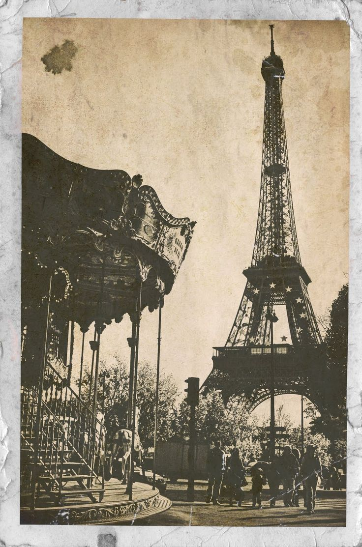 I remember seeing this carrousel when I got out of the métro and started walking towards Trocadéro.