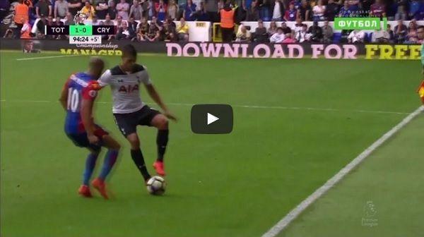 W taki sposób ośmieszył rywala piłkarz Tottenhamu Hotspur • Zwariowana siatka piłkarska Erika Lameli w meczu z Crystal Palace >> #football #soccer #sports #pilkanozna #futbol