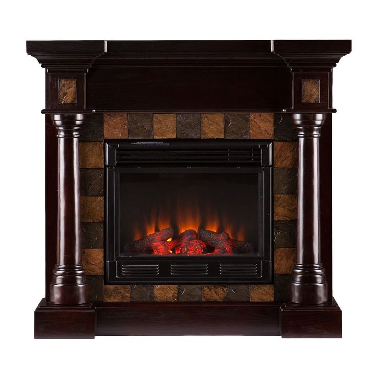 Wildon Home ® Clark Convertible Slate Electric Fireplace New!!! #Contemporary