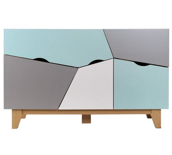 Buy HOME Multicoloured Sideboard at Argos.co.uk - Your Online Shop for Sideboards and dressers, Living room furniture, Home and garden.