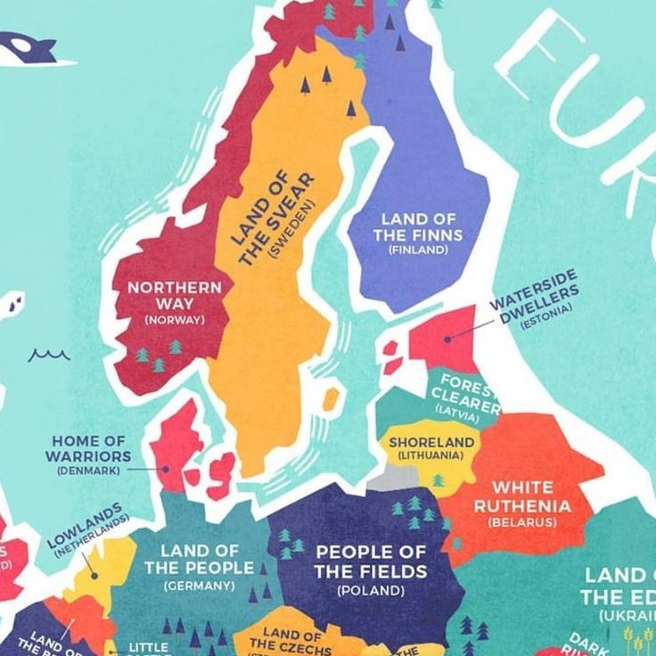 Country names translated literally Part 2. ••• Which one suprised you the most? ••• #europe #uk #spain #france #sweden #turkey #unitedkingdom #netherlands #germany #greece #ukraine #serbia #italy #names #sea #world #geographynow #geography #geo