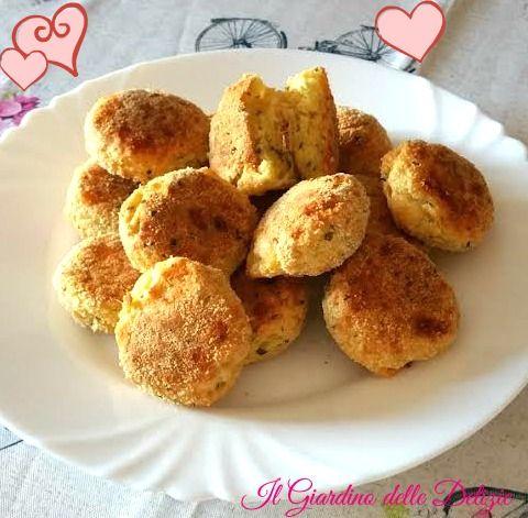 Palline+di+mozzarella+al+forno