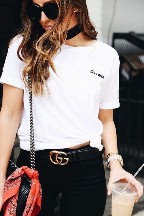 La más hot del planeta - Cinturón Gucci.    #guccibelt #gucci #cinturongucci #guccistyle #moda #classy #chic #outfitideas #outfit #estilo #moda #ideasmoda