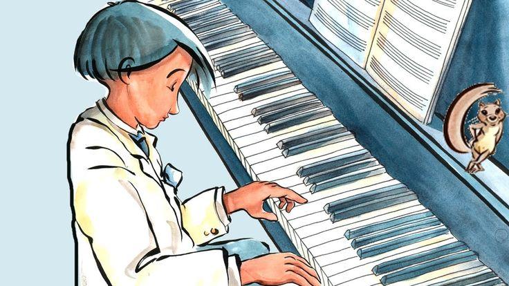 Le petit pianiste - Le texte s'écrit en même temps que la lecture