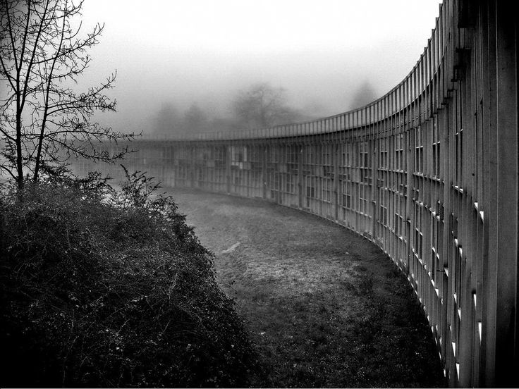 West Residencial Centre, Ivrea, Italy, Roberto Gabetti And Aimaro Isola, 1975
