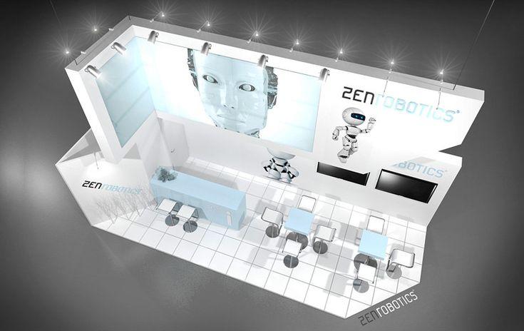 POLLUTEC 2014 / Zenrobotics Lyon, France 29,75m²