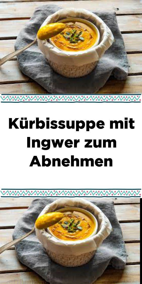Kürbissuppe mit Ingwer zum Abnehmen