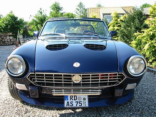 Fiat 124 Spider full floating suspension all over 5 gearing twin cam twin weber