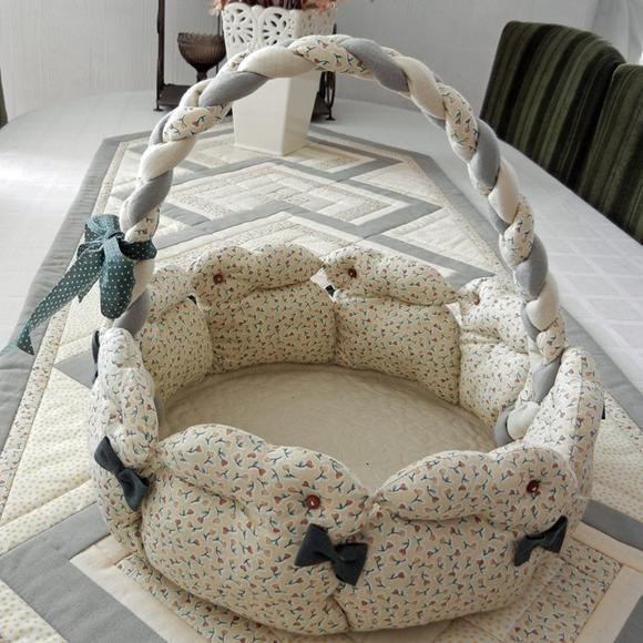 Как сделать кокон для новорожденных своими руками — гнездышко для малышей | Почемучки и когдачки