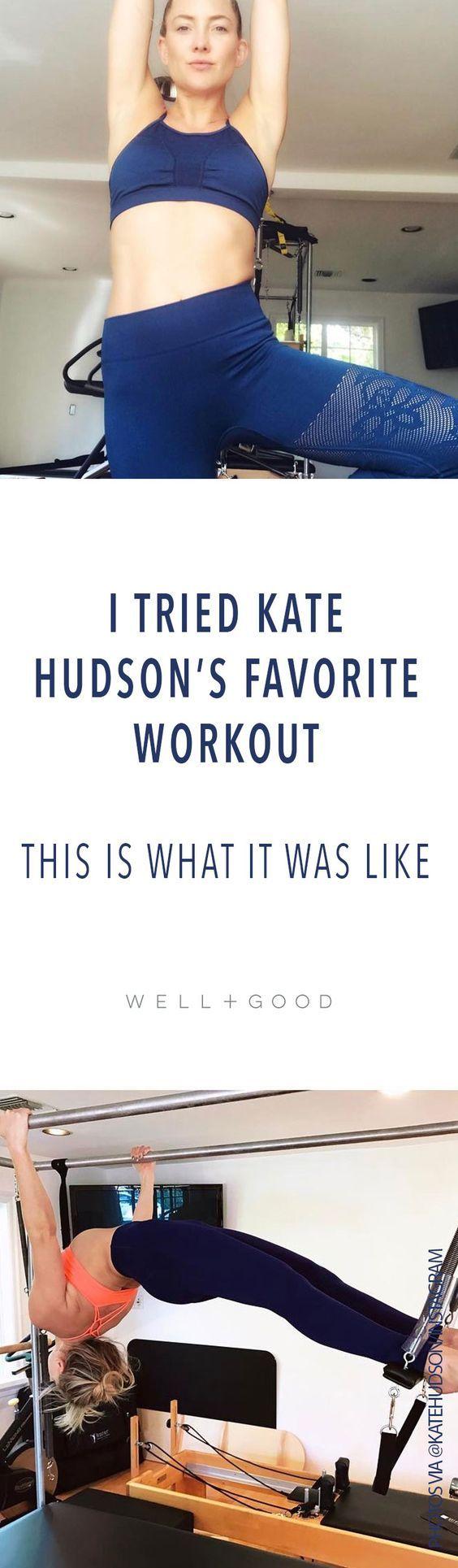 I tried Kate Hudsons favorite dance workout
