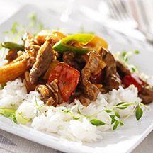 Orientalisk gryta med ris - 9 p