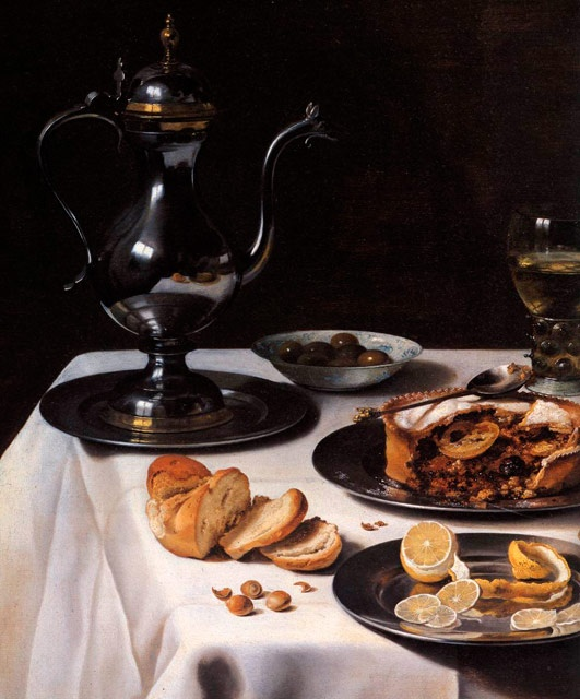Still-life by Pieter Claesz