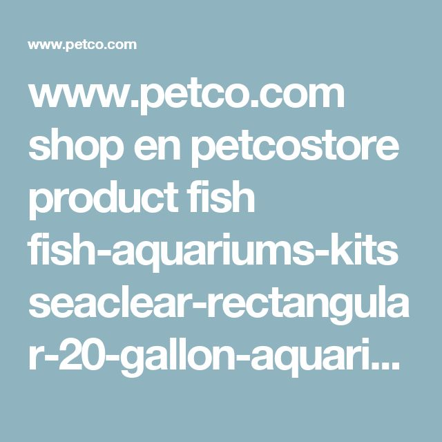 1000 ideas about 20 gallon aquarium on pinterest 20 for Fish tank and stand combo