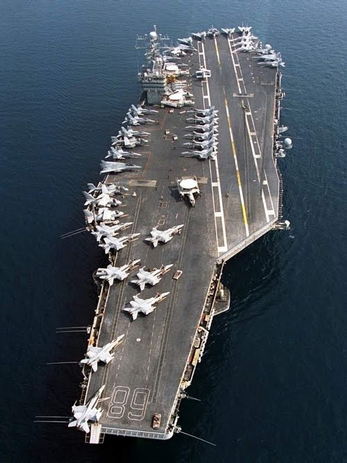 I know what type of ship this is and aircraft on the flight deck. I also know a ton more things about the rest of the military.