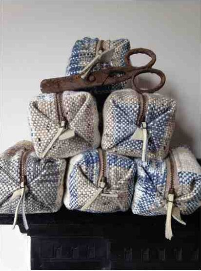 Origami zip bag