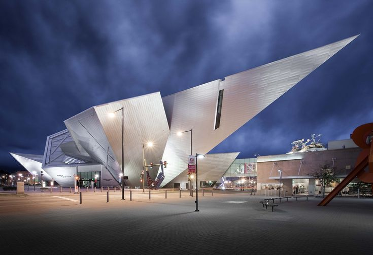 Thibaud Poirier - The Denver Art Museum. Architecture by Daniel...