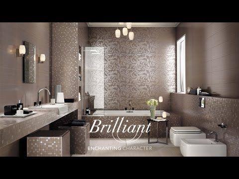 glnzende bad fliesen von atlas concorde italienische eleganz im bad - Matt Und Glnzende Fliesen Kombinieren Bad