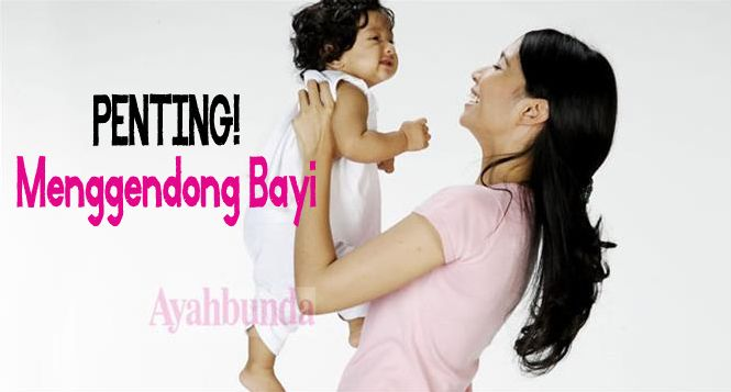 Menggendong merupakan salah satu kegiatan yang Anda lakukan saat menikmati waktu bersama bayi. Apa sih manfaatnya? Klik link di atas untuk informasi lengkapnya