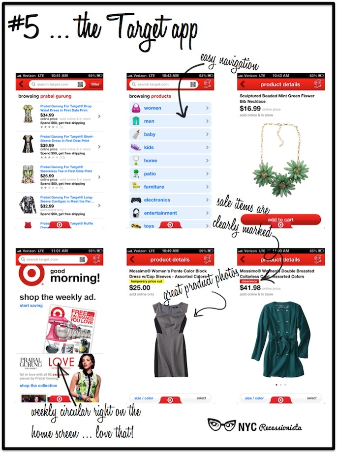 NYC Recessionista: NYC Recessionista's Favorite Shopping Apps