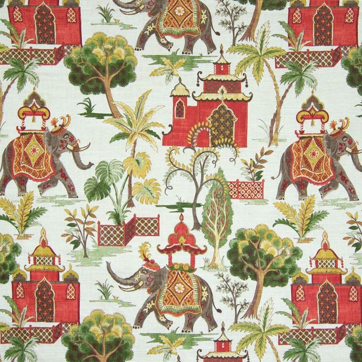 Fantastic asian verde upholstery fabric by Greenhouse. Item B6678-VERDE. Fast, free shipping on Greenhouse. Find thousands of designer patterns. Strictly first quality. Width 55 inches. Swatches available.