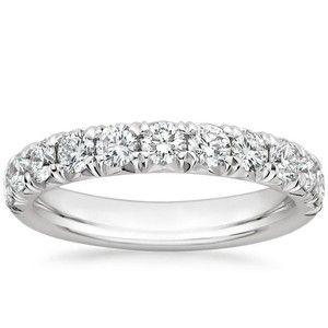 18K White Gold Ellora Diamond Ring (1 ct. tw.), top view