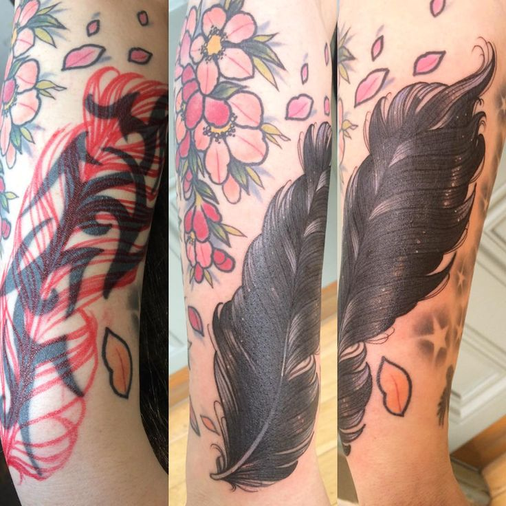 """Tribal cover up for lovely Susie! #redtattooandpiercing #tattoo #leeds #coverup"""