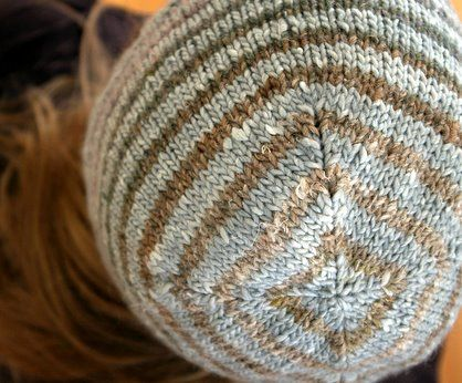 Kathryn Ivy - Blog - Turn a Square knitted hat