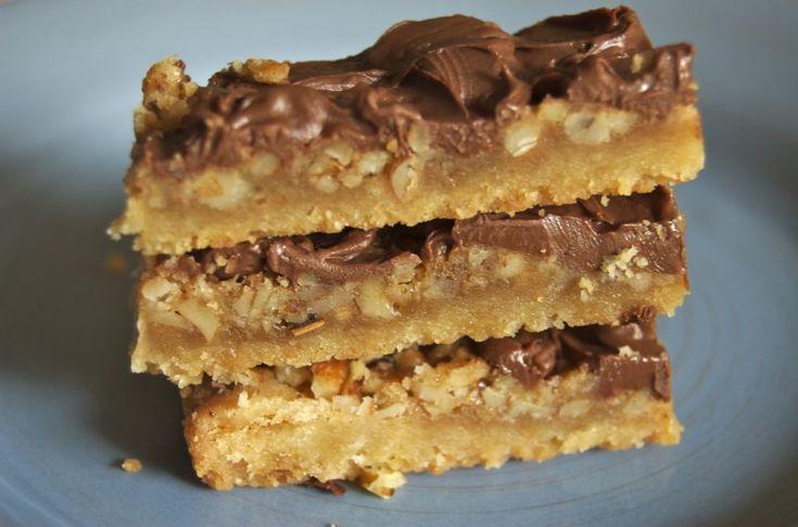 Butter Pecan Turtle Bars | Bake or Break wonder how these would taste wheat free....
