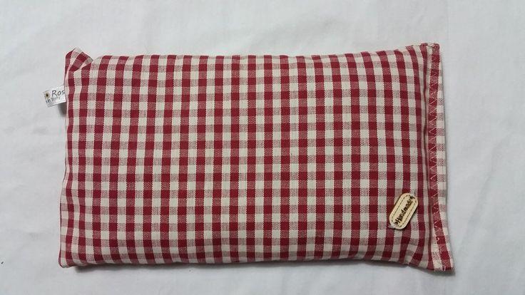 Cuscino noccioli di ciliegia riscaldabile in forno o microonde, by rosycreazioni, 10,00 € su misshobby.com