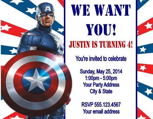 Superhero Party Invites Free is best invitation design