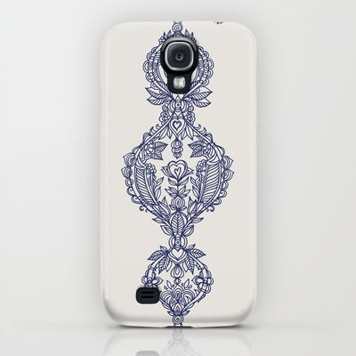 The Ups and Downs of Navy Doodles iPhone & iPod Case $35.00