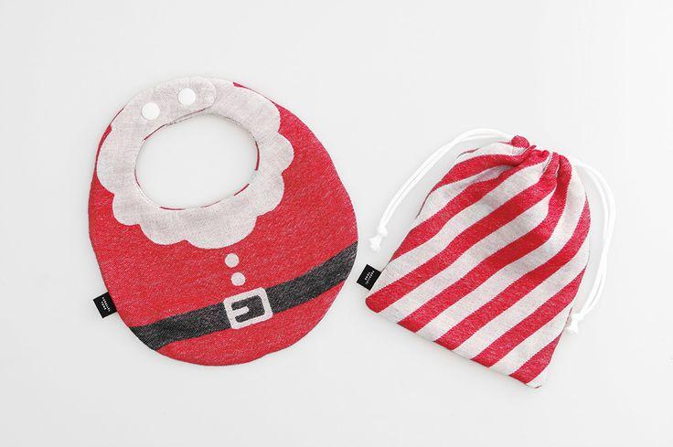 ベビーサンタクロースキット Fanfare -クリスマス限定-  Christmas /diy / sewing / クリスマス / ソーイング / 手作り / ハンドメイド / 赤ちゃん / ベビー / スタイ / よだれかけ / babybib