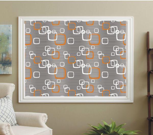 1000 Ideas About Orange Roller Blinds On Pinterest