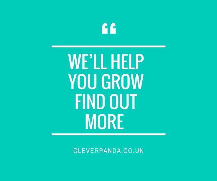 Too busy running your business to market it? We can help. http://cleverpanda.co.uk/ #business #london